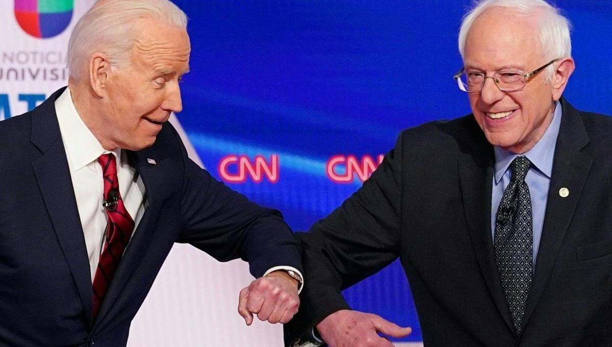 Sanders and Biden