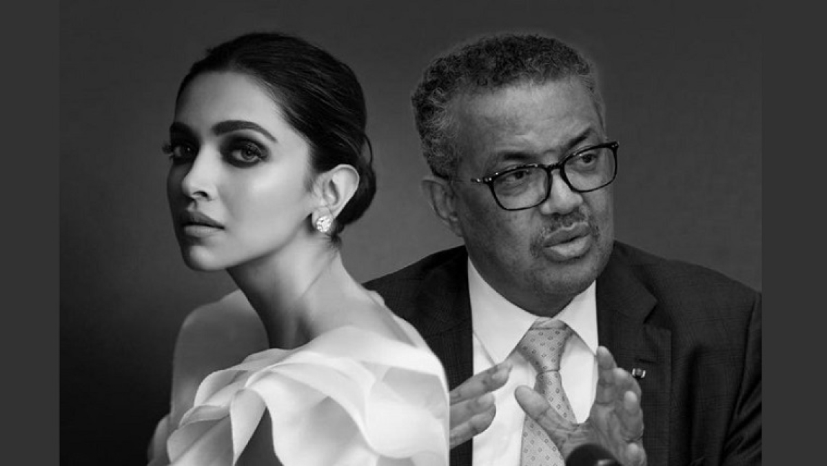 As Deepika Padukone announces mental health talk with WHO's Dr Tedros, Twitters says 'PR kiya to darna kya'