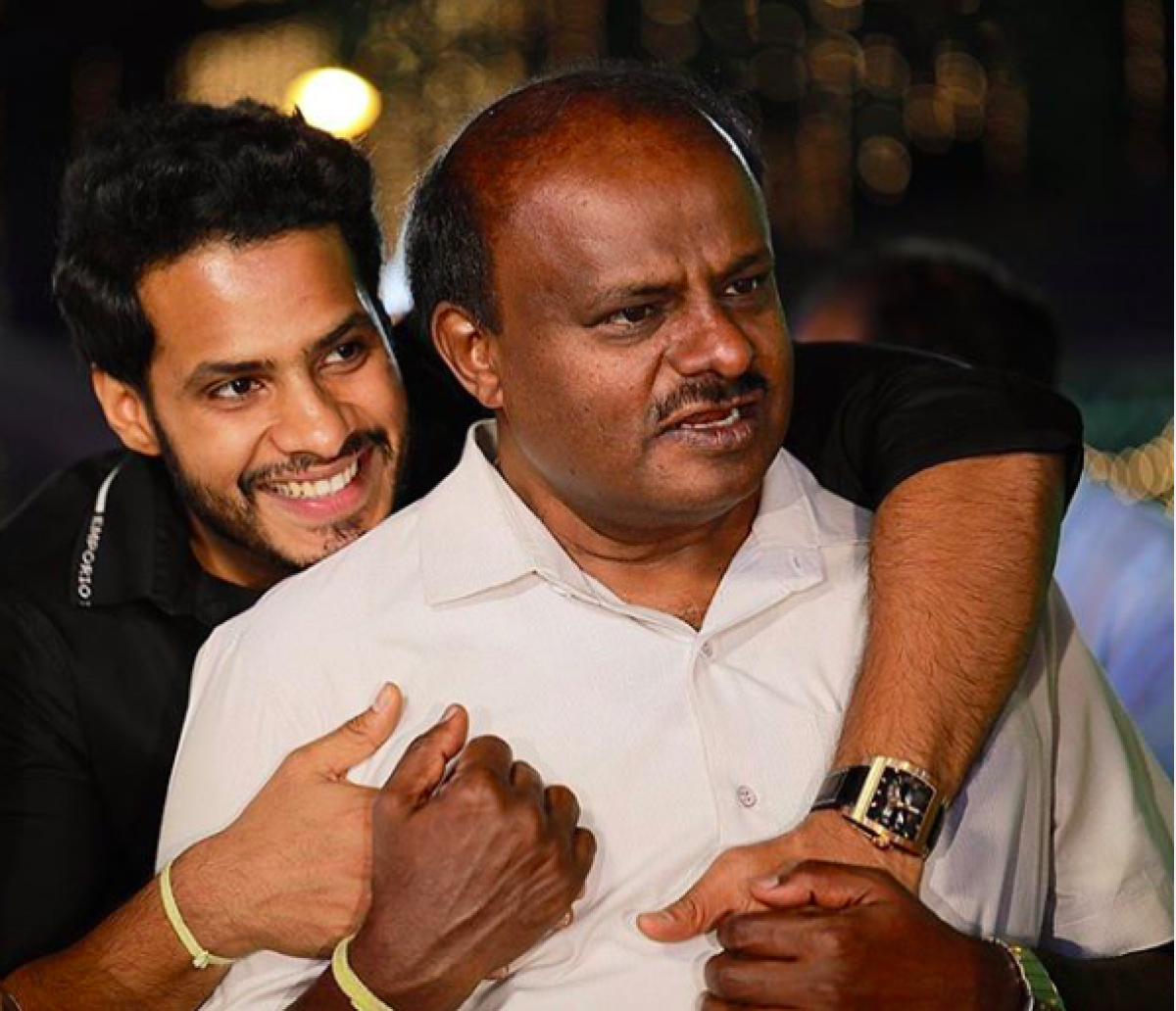 Social distancing rebel, actor, wannabe politician - who is Nikhil Kumaraswamy who had to get married during lockdown?