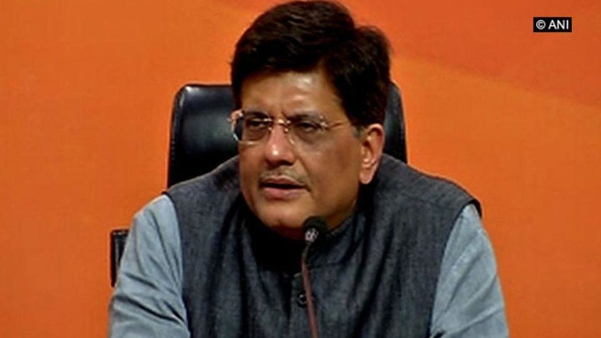 Allowing E-Commerce firms to supply only essentials to create level playing field for small retailers: Piyush Goyal