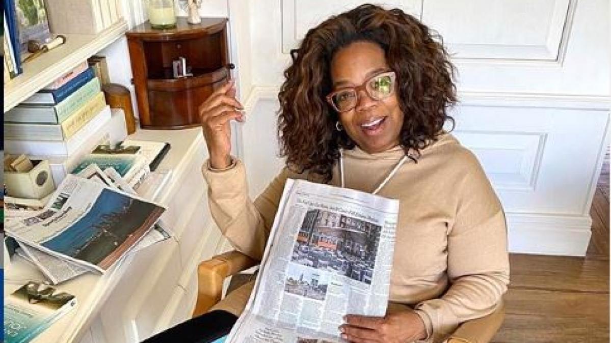 Oprah Winfrey donates USD 10 million to help Americans combat COVID-19