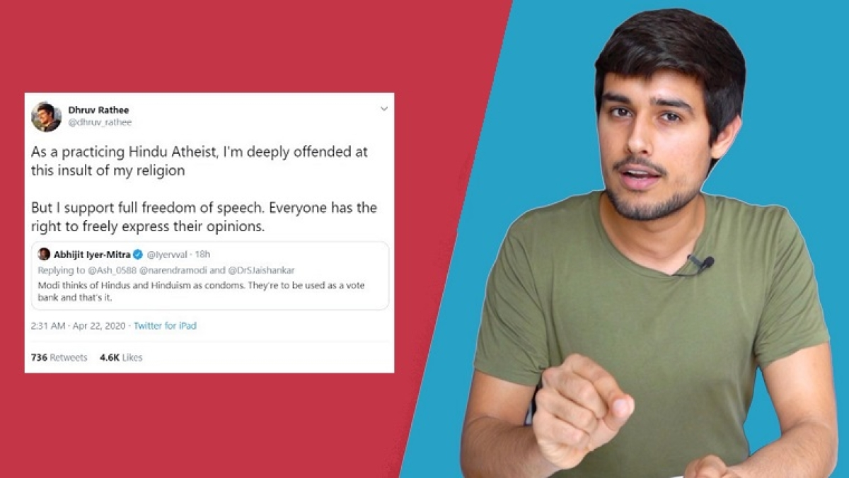 Dhruv Rathee trolled but what exactly is a Hindu atheist?