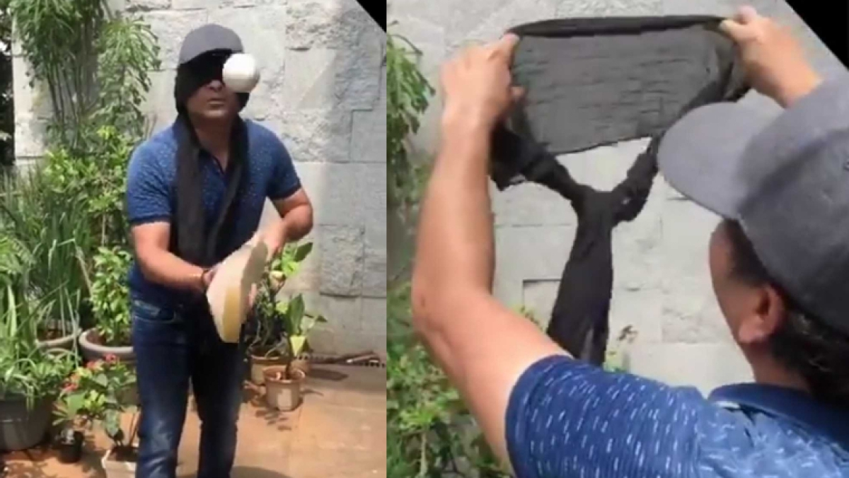 Sachin Tendulkar blasts Yuvraj Singh in response to his juggling cricket ball challenge