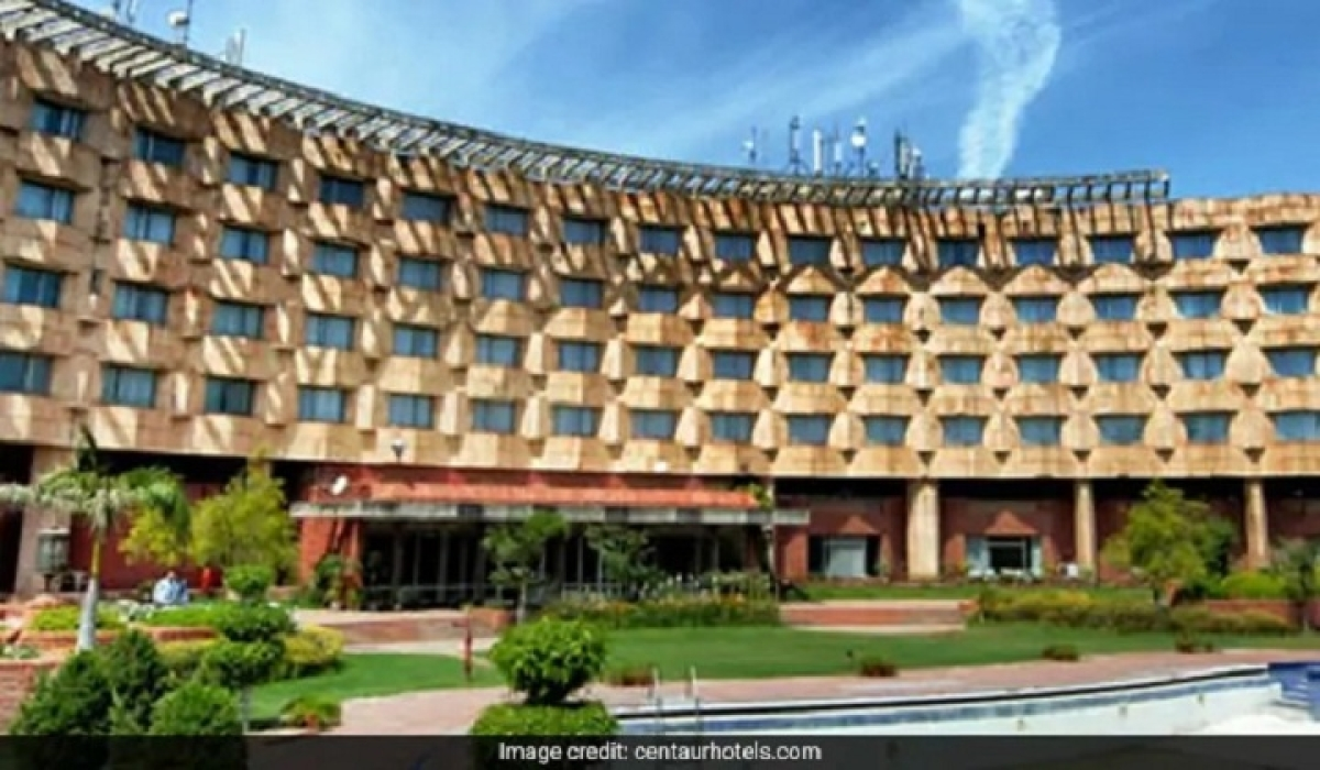Air India partly seals Centaur Hotel for sanitisation