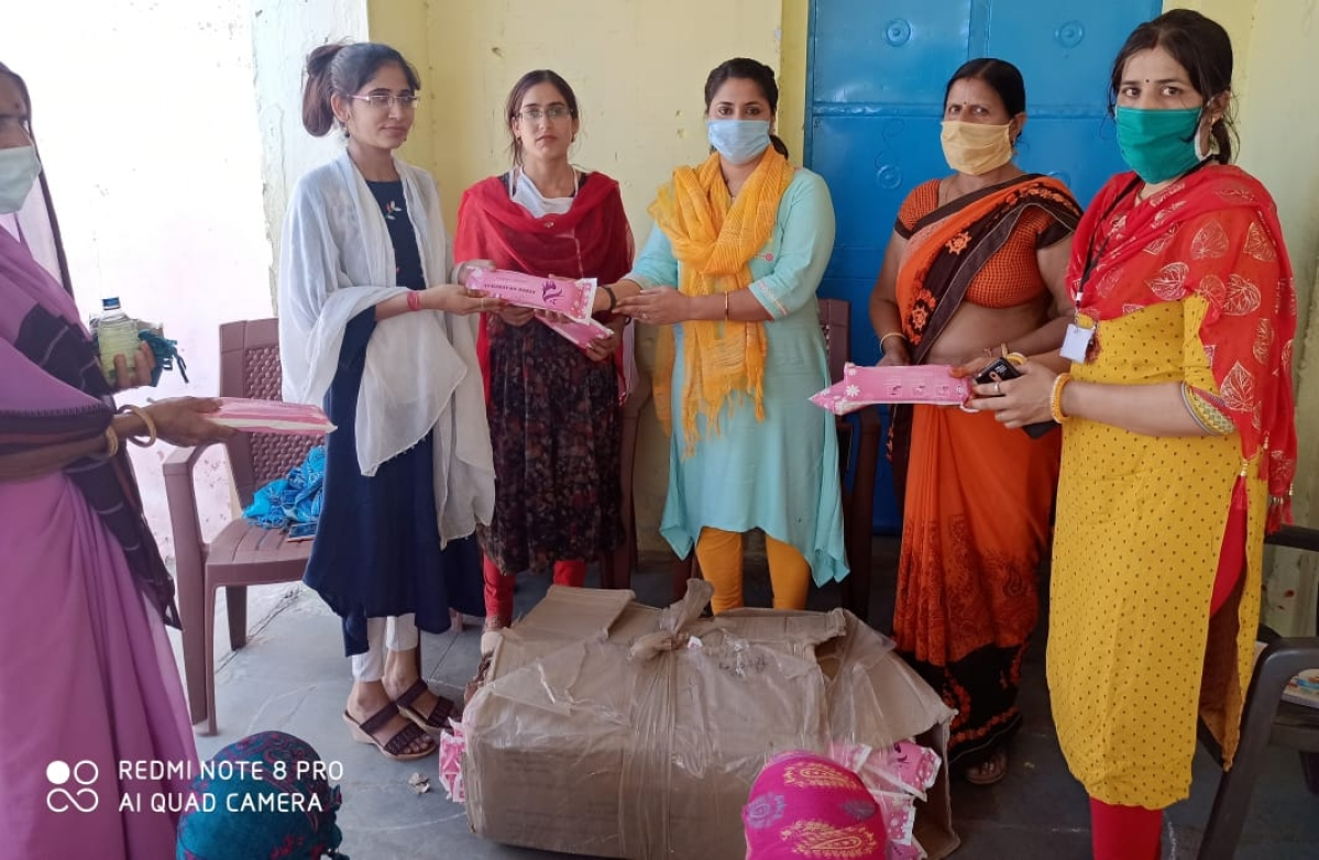 Lockdown 3.0 in Rajasthan: Women officers ensure menstrual hygiene by distributing sanitary napkins; turn into 'Pad-Women'