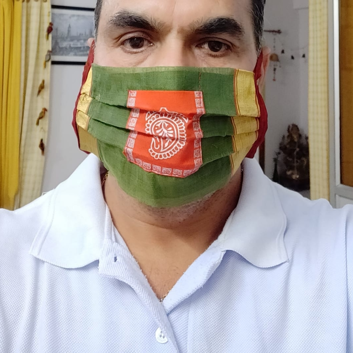 Fashion amid coronavirus: MP Handloom's printed and traditional masks fading pandemic stress