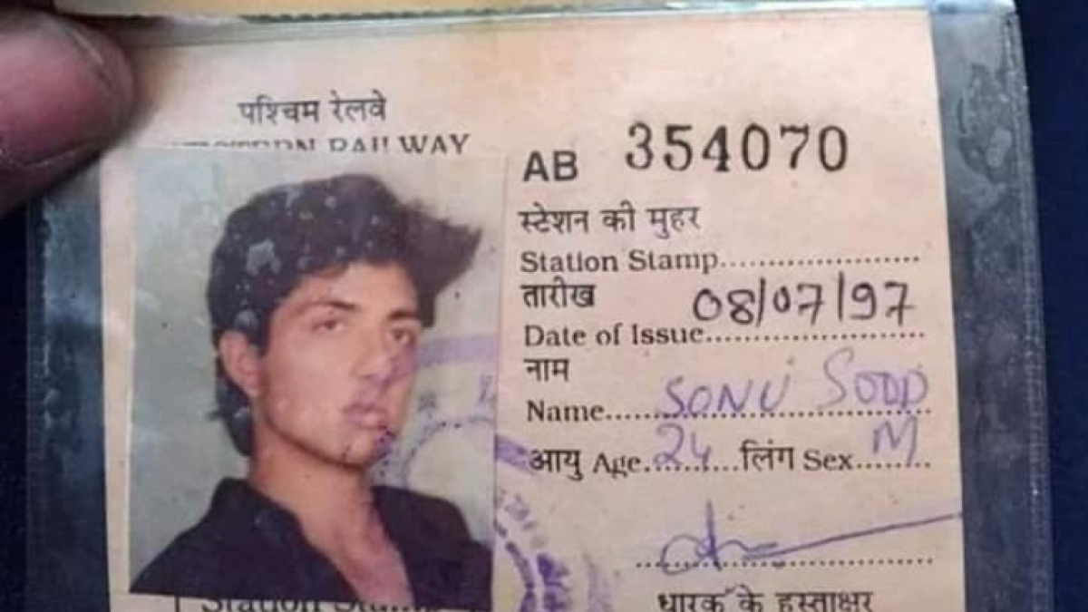 Migrants' saviour Sonu Sood's local train pass goes viral, actor says 'life is a full circle'