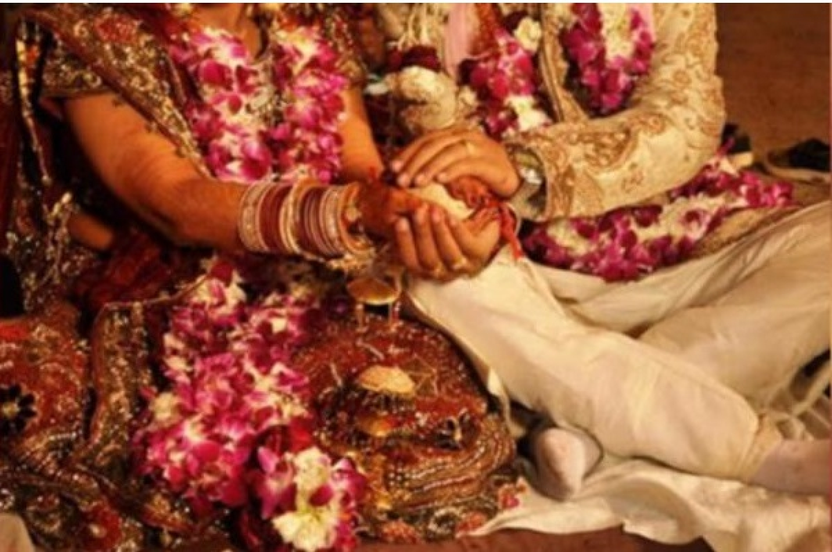 Madhya Pradesh: Social distancing goes for a toss at govt official's wedding ceremony
