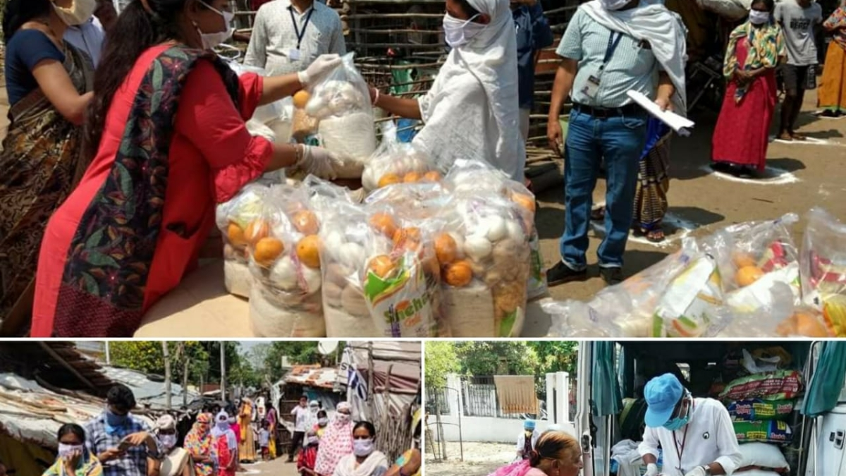 WCL's Jhankar Mahila Mandal serves the needy amid the coronavirus crisis