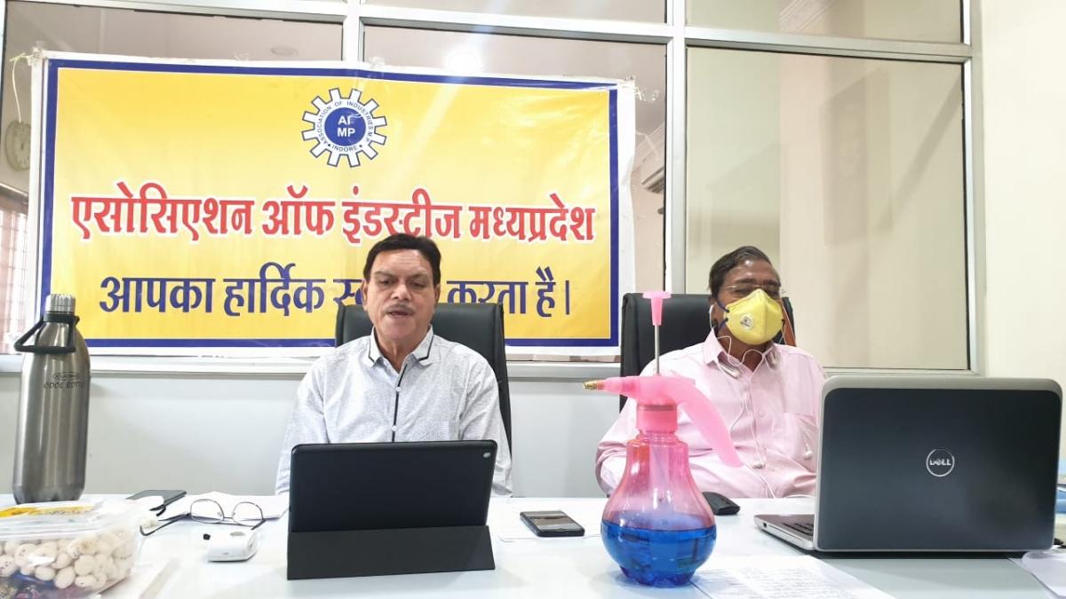 Association of Industries Madhya Pradesh stages online dharna