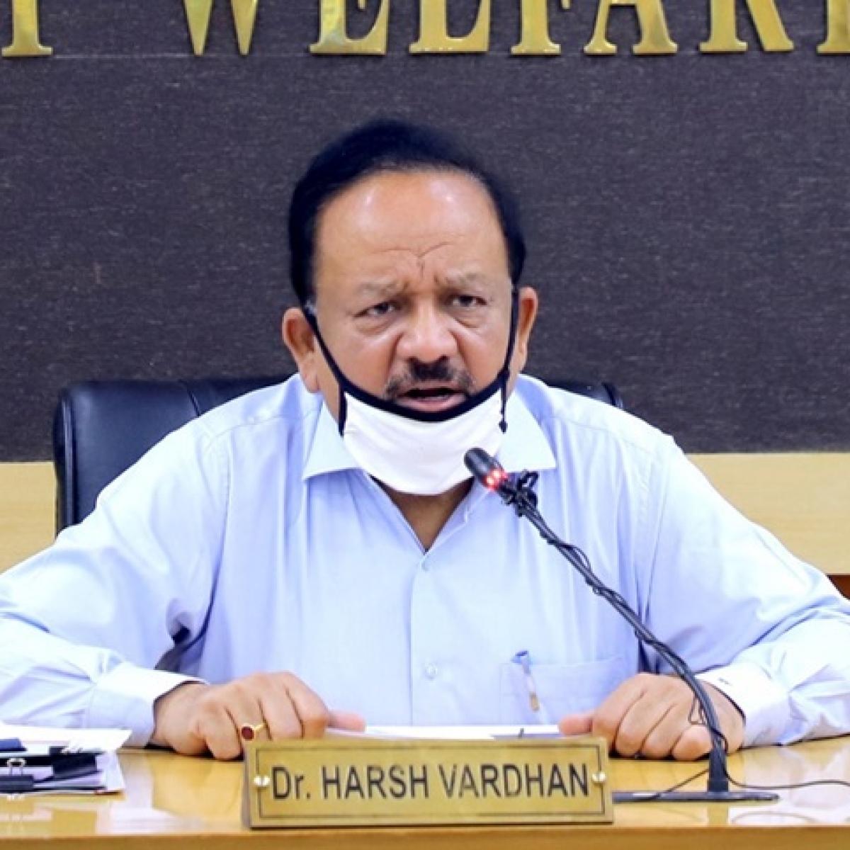 Chhattisgarh asks Centre to halt the supply of Covaxin, Union Health Minister Harsh Vardhan responds