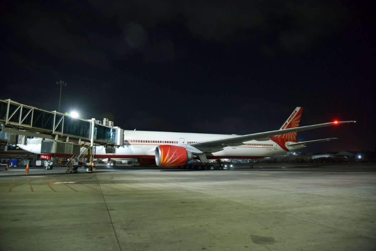 First Air India repatriation flight brings back 329 stranded Indians from London