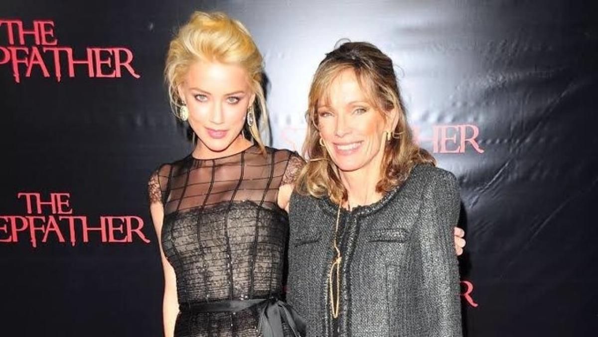 Amber Heard 'devastated, heartbroken' on mother's death