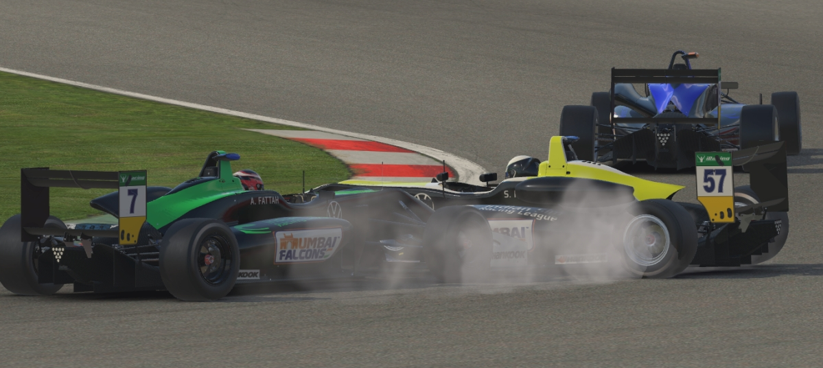 Sai Prithvi spun in the penultimate race and ended his title hopes after Abdul Fattah could not avoid him and crashed into Prithvi