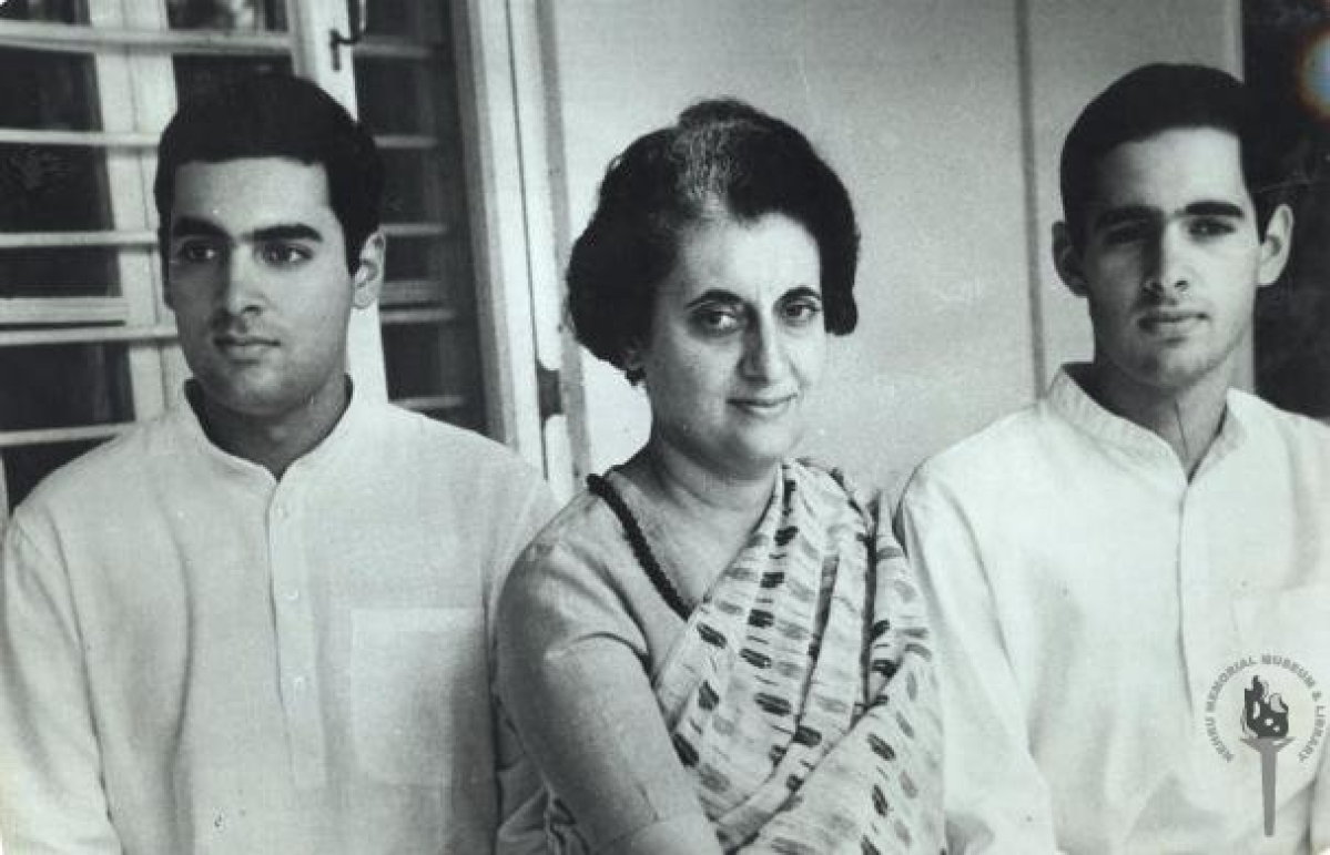 Rajiv, Indira and Sanjay