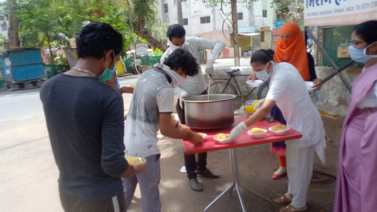 BMC spends Rs 76 cr on feeding the needy