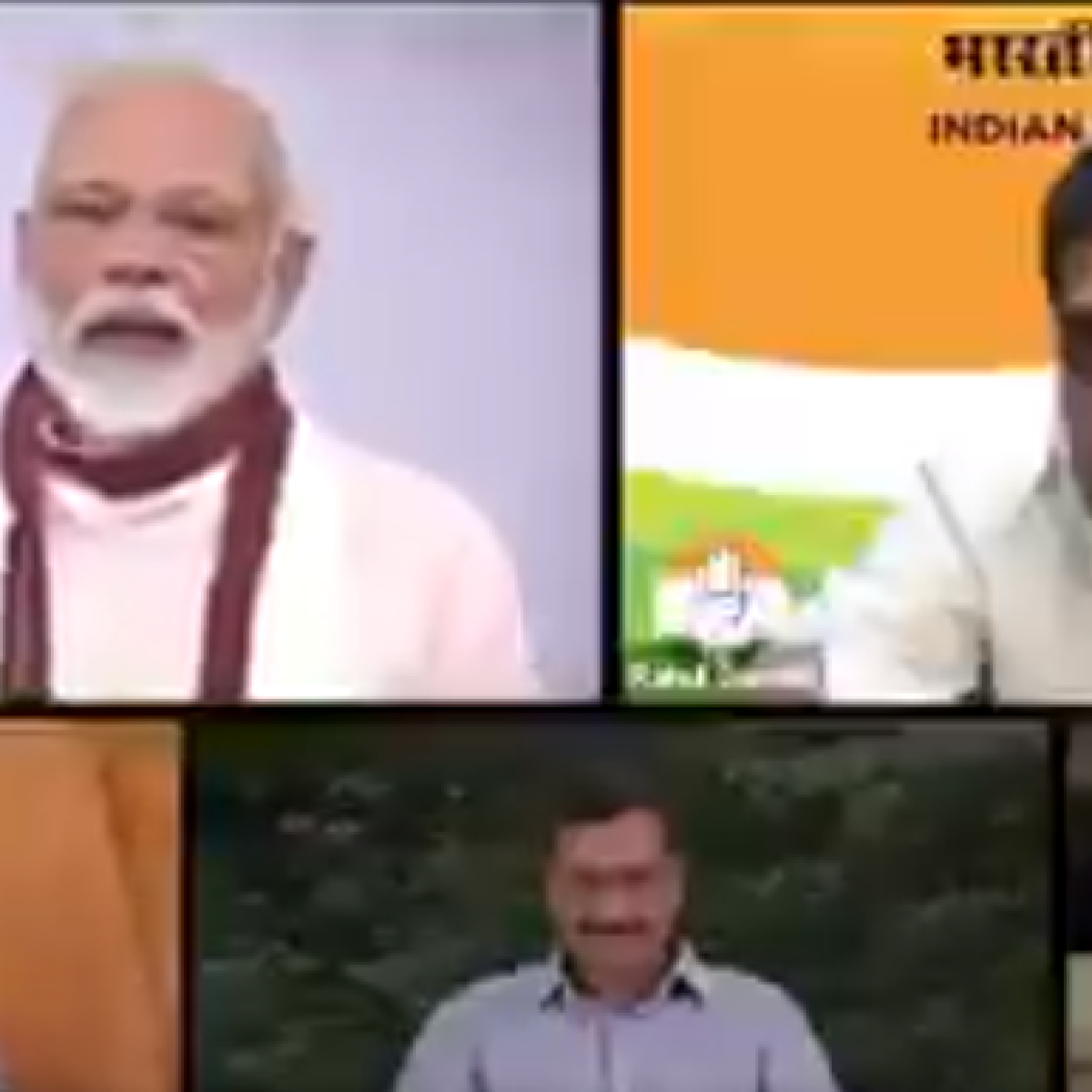 Watch: This mashup between Modi, Rahul, Kejriwal and Arnab is the best video on the internet today