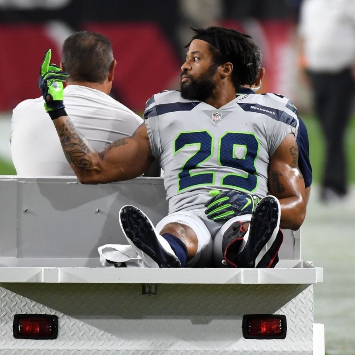 NFL star Earl Thomas found naked in bed with several women, held at gunpoint by wife