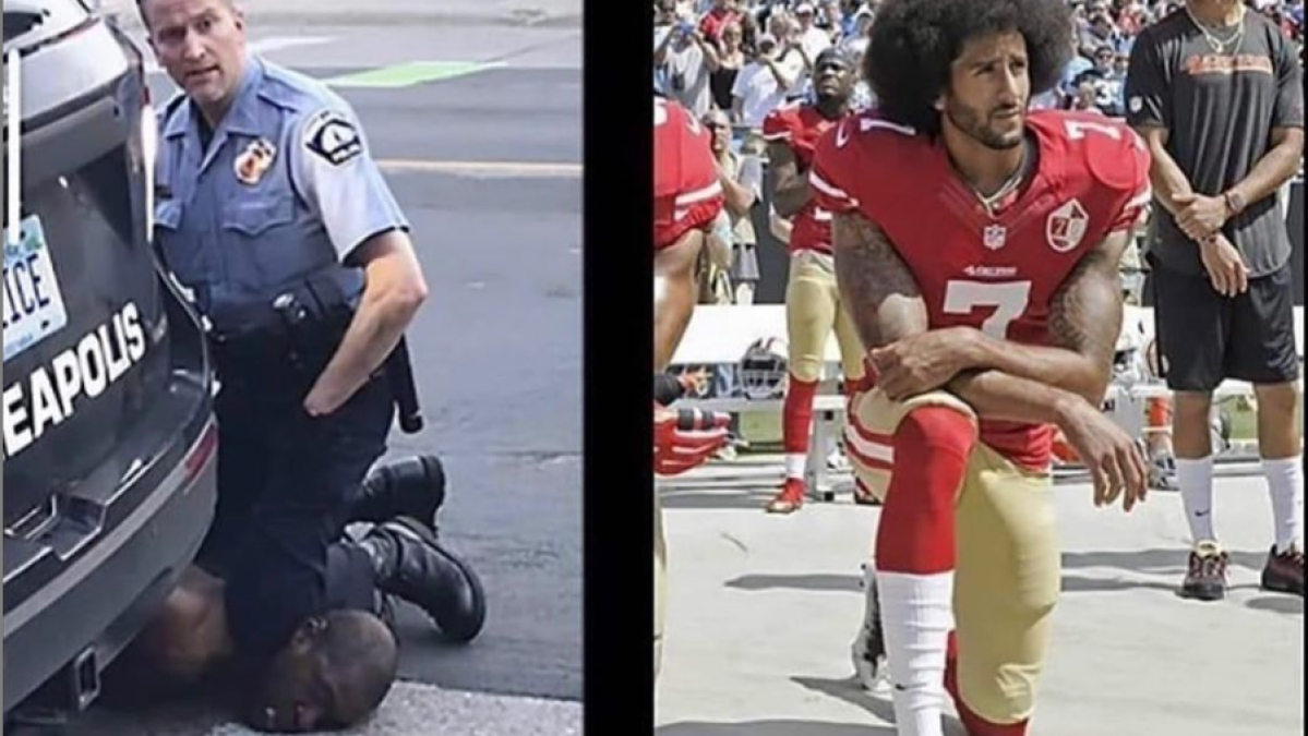 NFL player Colin Kaepernick backs protesters after police kill George Floyd in broad daylight