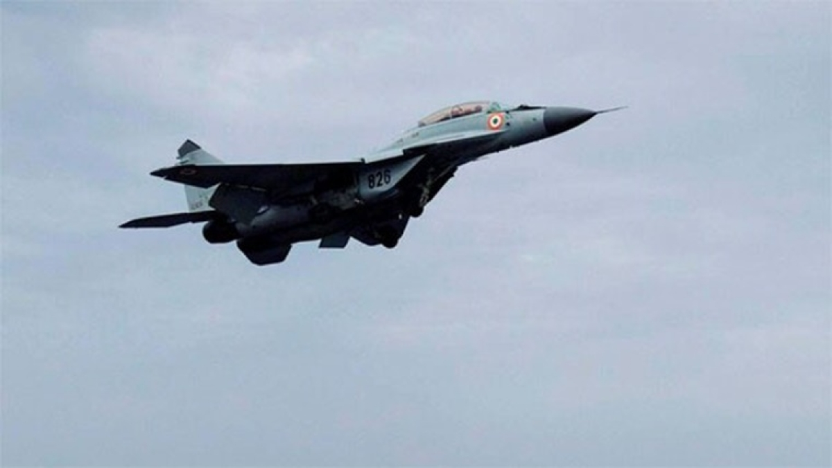 Indian Air Force's MiG-29 fighter aircraft crashes in Punjab