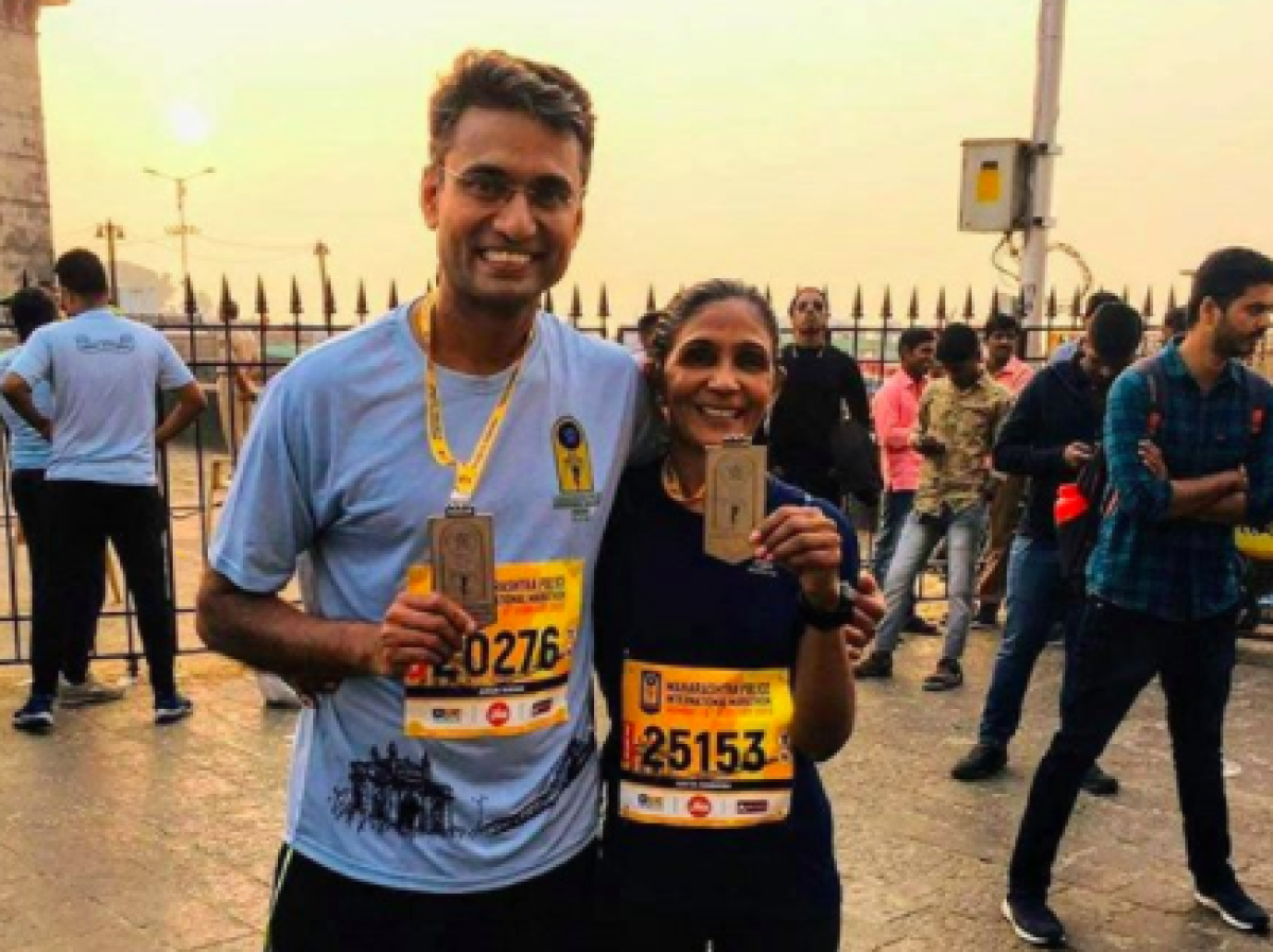 Besides mountaineering, Dr Nayak is also an avid runner and has participated in full marathons