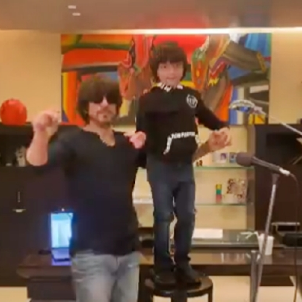 I For India: Shah Rukh Khan shares his song 'Sab Sahi Ho Jayega' featuring son AbRam