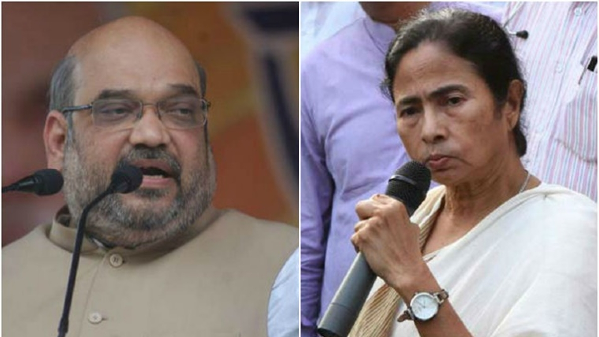 Amit Shah speaks to Mamata Banerjee, assures help to deal with situation arising due to cyclone Amphan