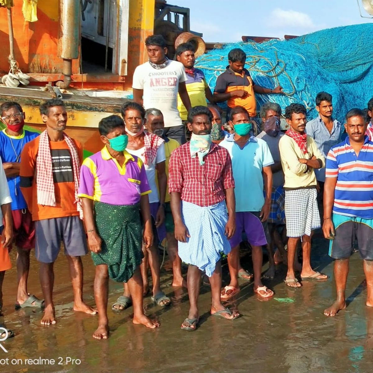 Mira Bhayandar: 119 fishing boat helpers from Andhra Pradesh stranded in Uttan