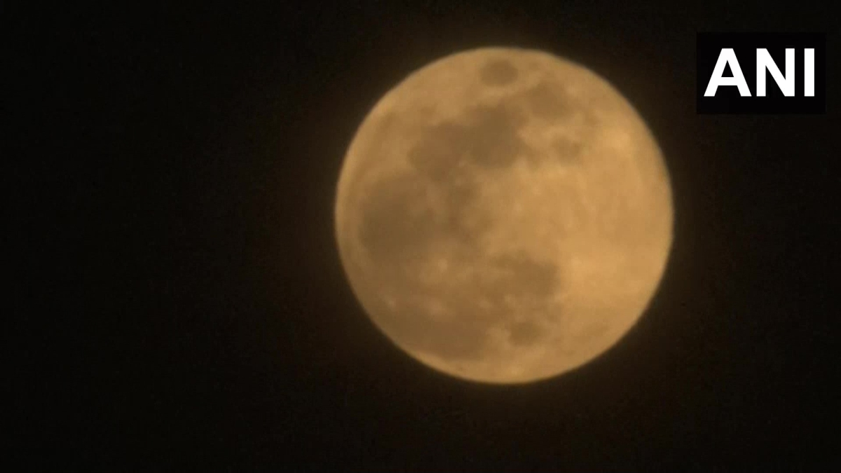 In pictures: Check out the 'Super Flower Moon' on Buddha Purnima
