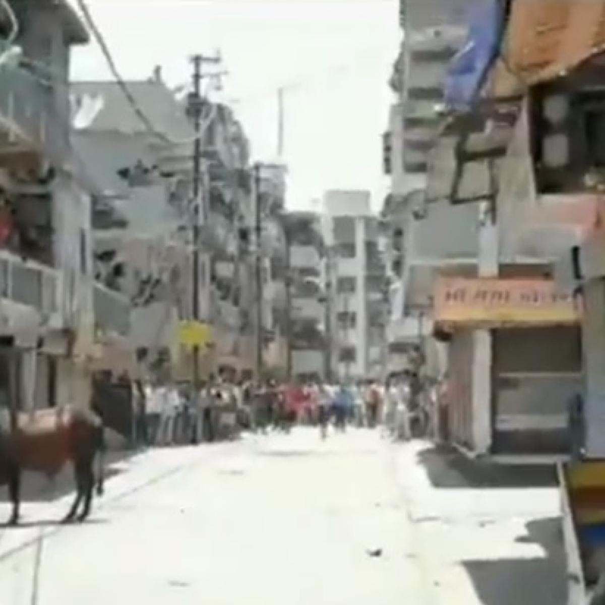 Coronavirus lockdown: Clash erupts between police and migrant workers in Surat