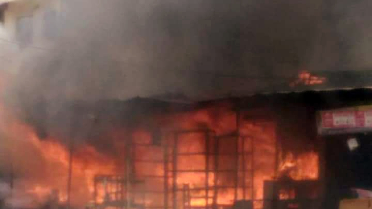 Madhya Pradesh: 7 of family charred to death as fire breaks out in Gwalior building