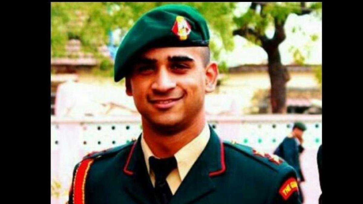 'The only thing that matters is courage and honour...': Inspirational words of Major Anuj Sood who was killed by terrorists in Handwara