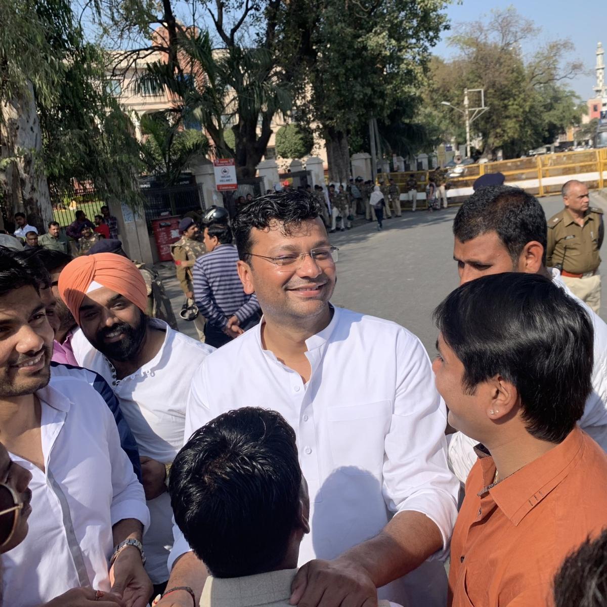 Indore: Gaurav Ranadive is new city BJP chief, MLA Rajesh Sonkar made president of city rural