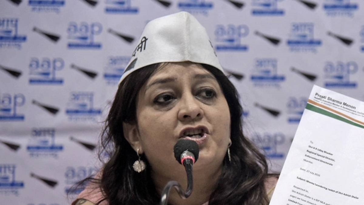 Twitter user 'Poksershash' summoned by Kolkata Police for abusing AAP's Preeti Sharma Menon