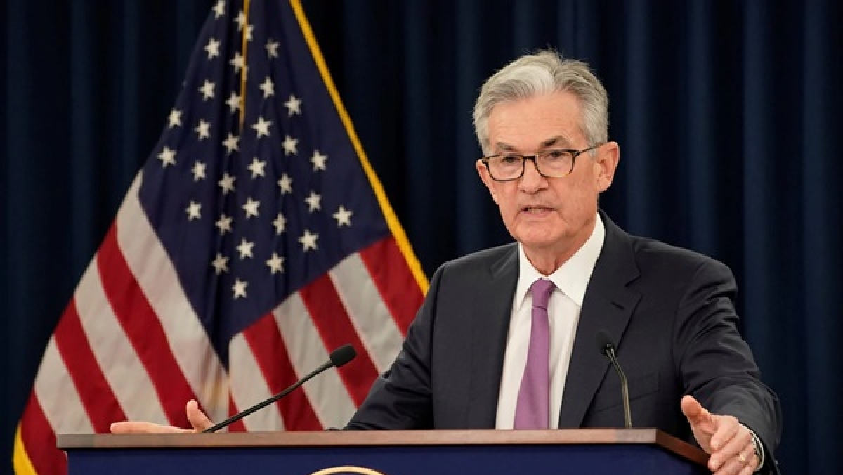 US Federal Reserve chief Jerome Powell