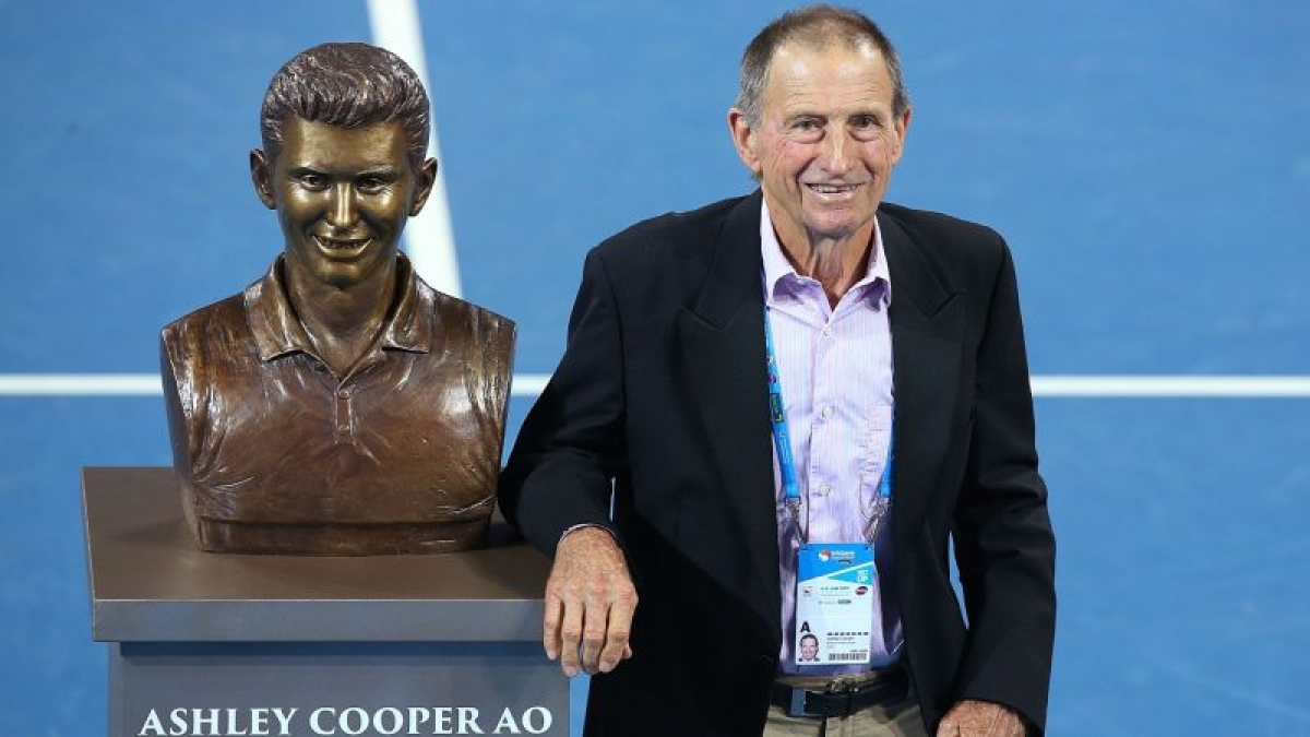 Australian tennis great Ashley Cooper dies at 83