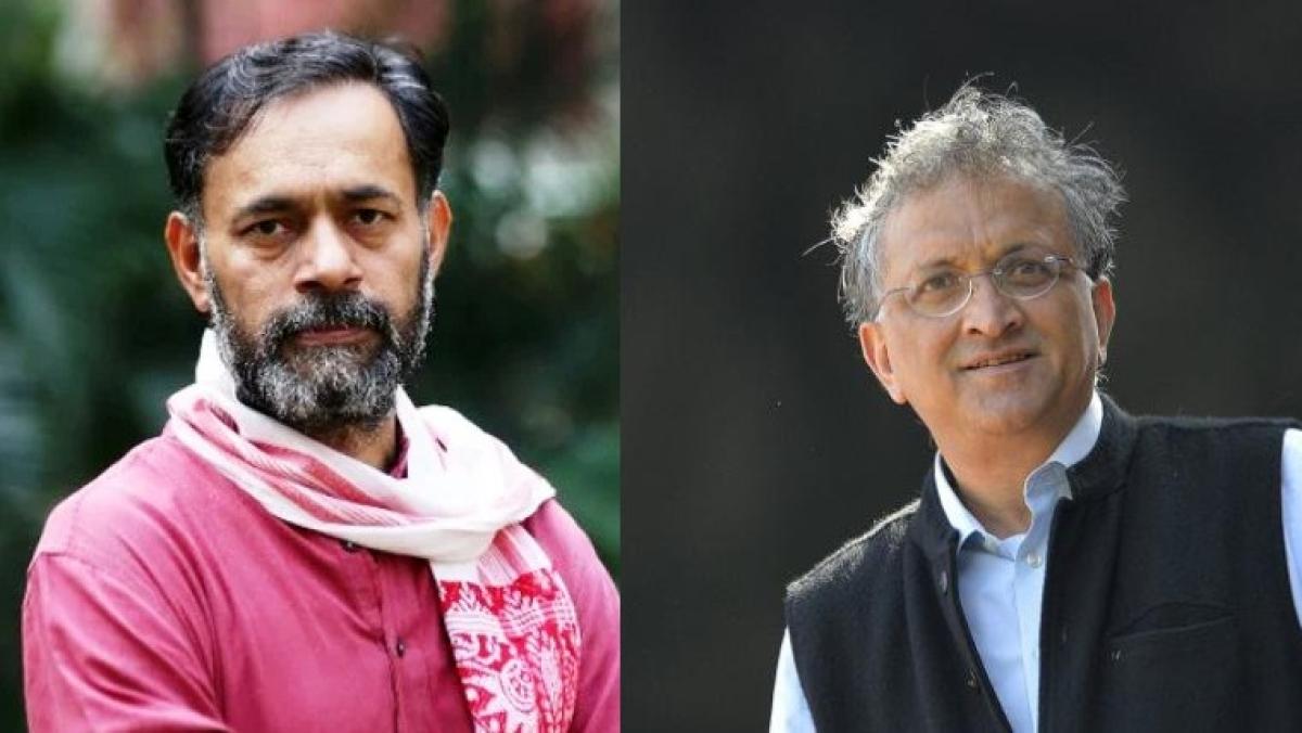 Yogendra Yadav and Ramachandra Guha