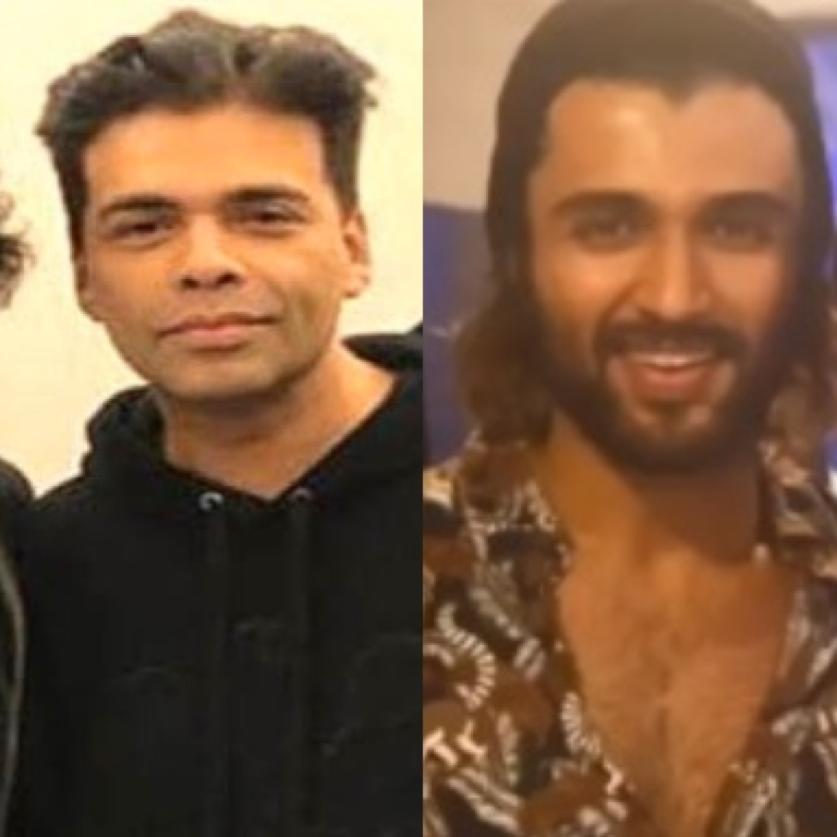 Karan Johar, Ananya Panday wish Vijay Deverakonda on 31st birthday, share throwback pics