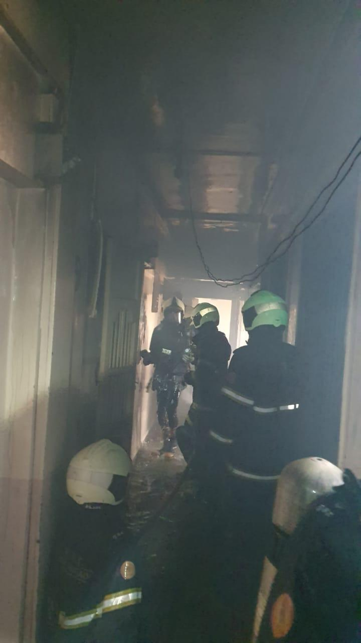 Mumbai: Fire breaks out at a residential building in Mazgaon area