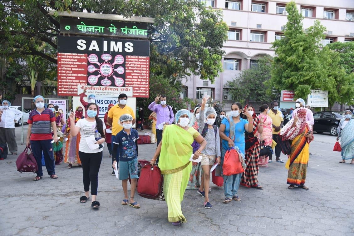 Coronavirus in Indore: 58 discharged from three hospitals, Mahant complex remains hotspot