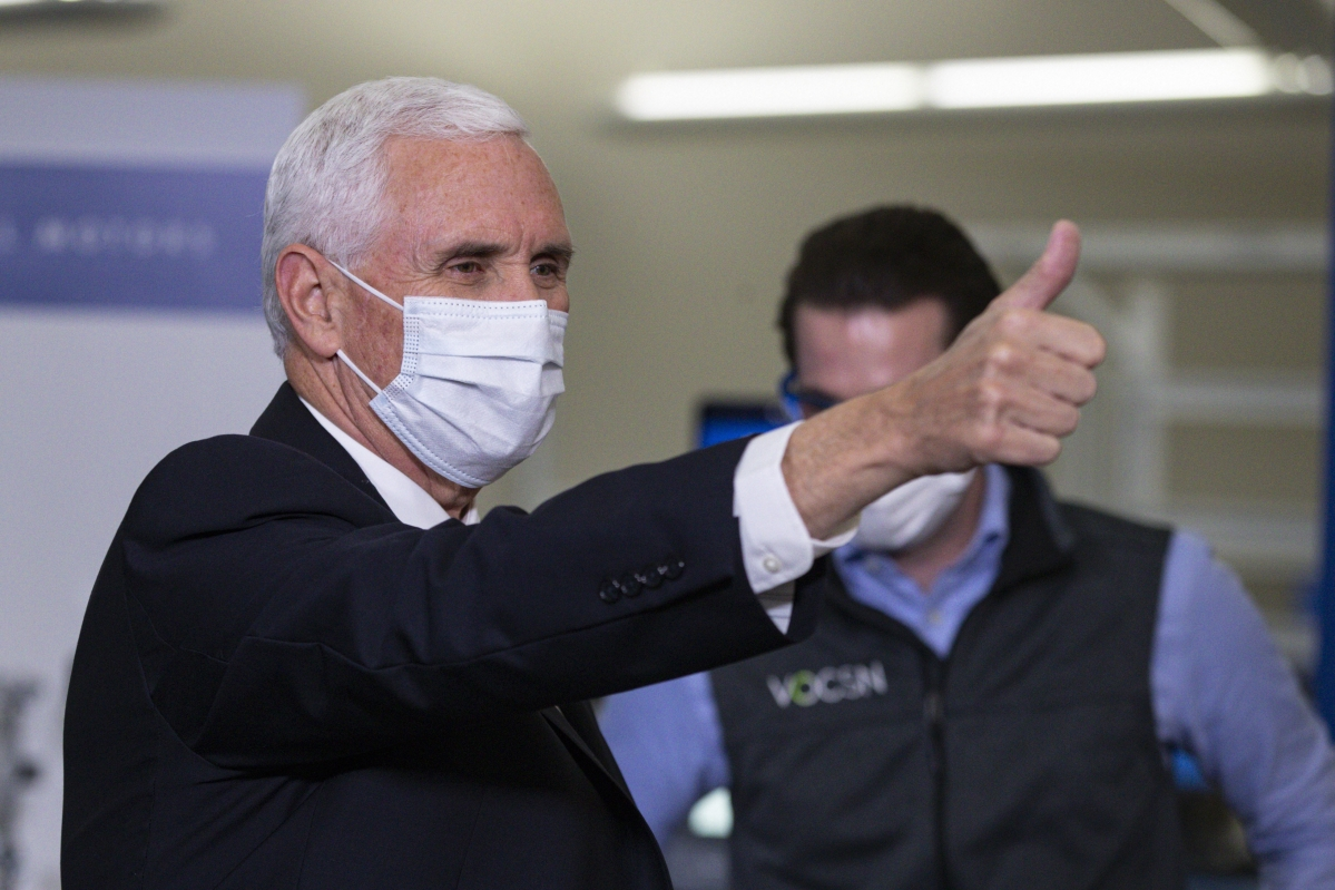 US Vice President Mike Pence self-isolates after his aide tests COVID-19 positive