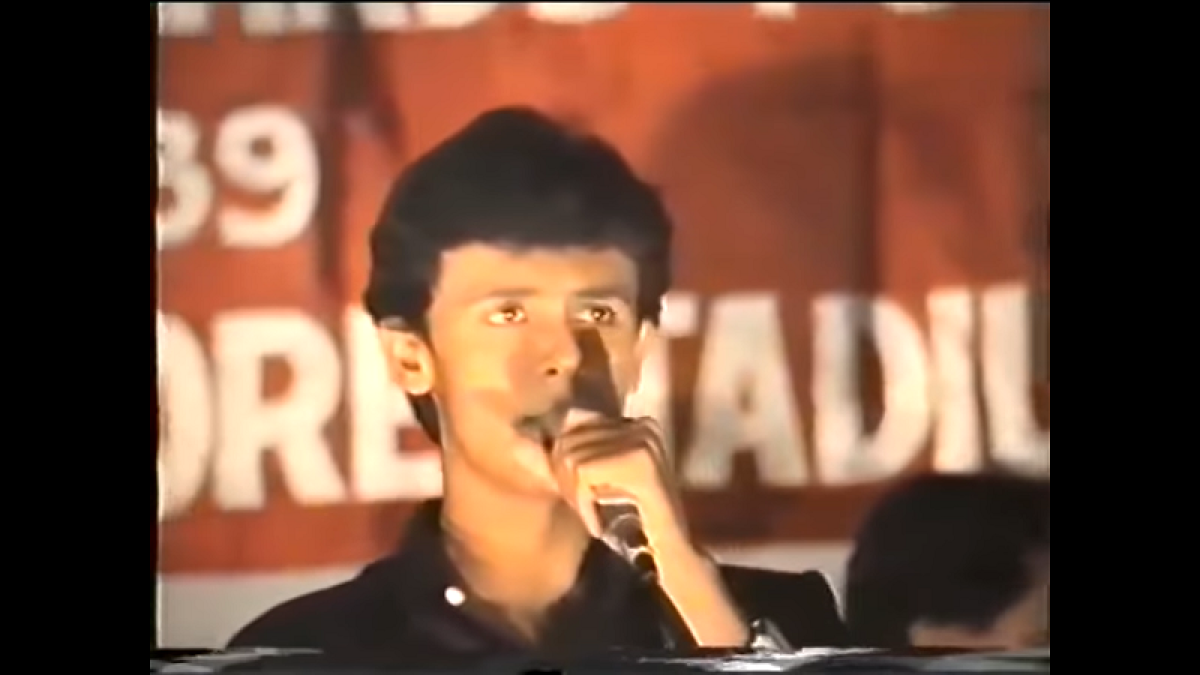 Sonu Nigam shares major throwback video of singing 'Mahabharat' title song in 1989
