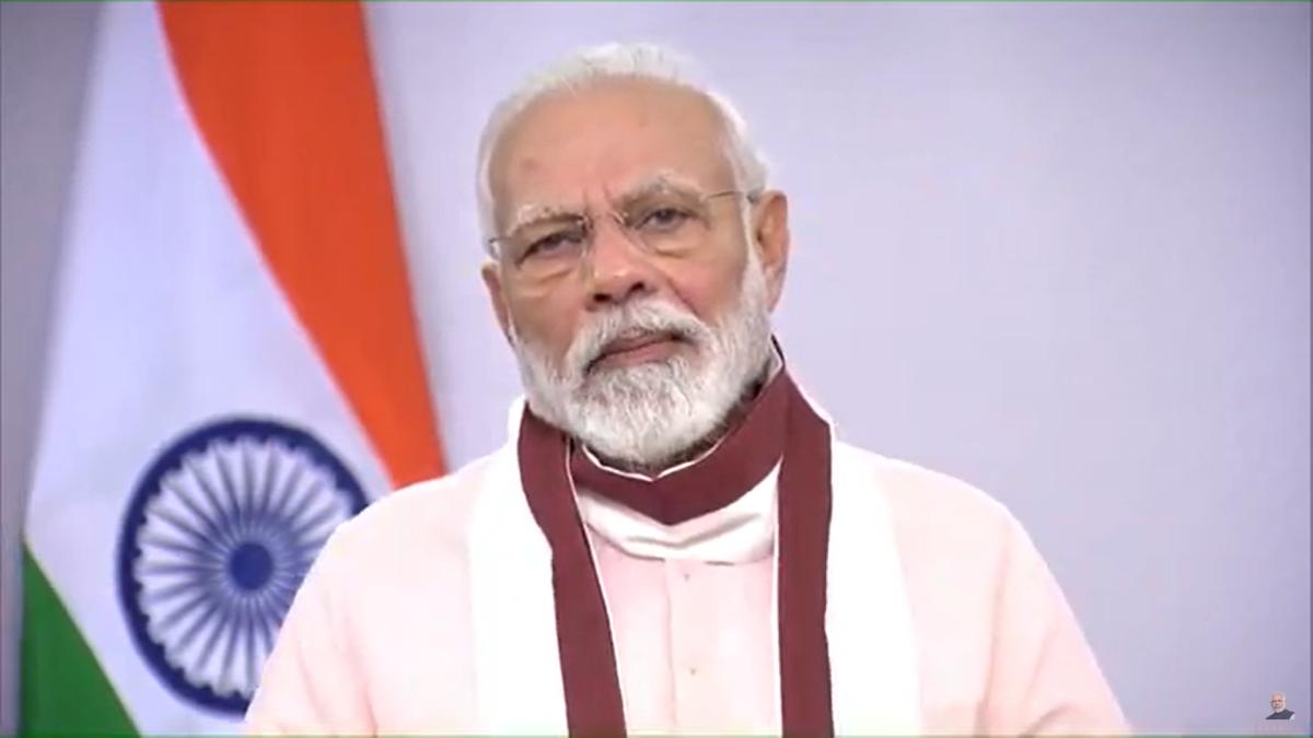 Photo: Narendra Modi/YouTube screengrab