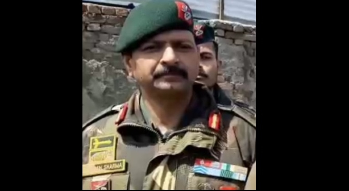 Colonel Ashutosh Sharma killed in an encounter between Army men and terrorists in J&K