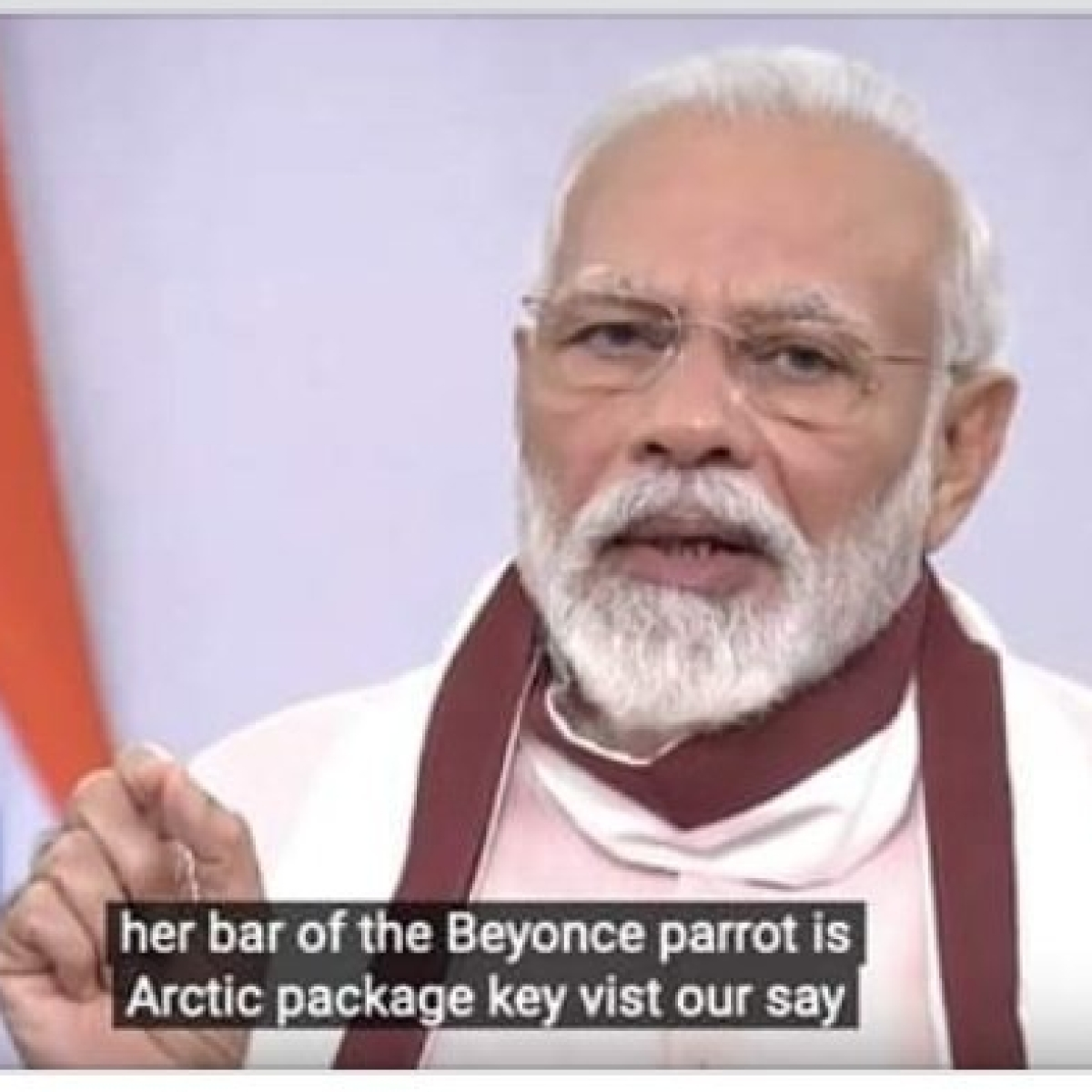 'Her bar of the Beyonce parrot': These YouTube captions during PM Modi's live speech are too funny to miss out