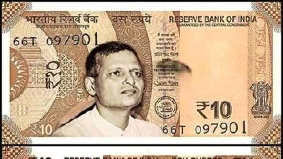 Madhya Pradesh: Man claiming to be ABVP member swaps Gandhi's face for Godse in currency, complaint filed