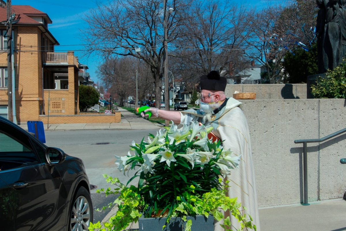 Meet the Roman Catholic priest with squirt gun for shooting holy water