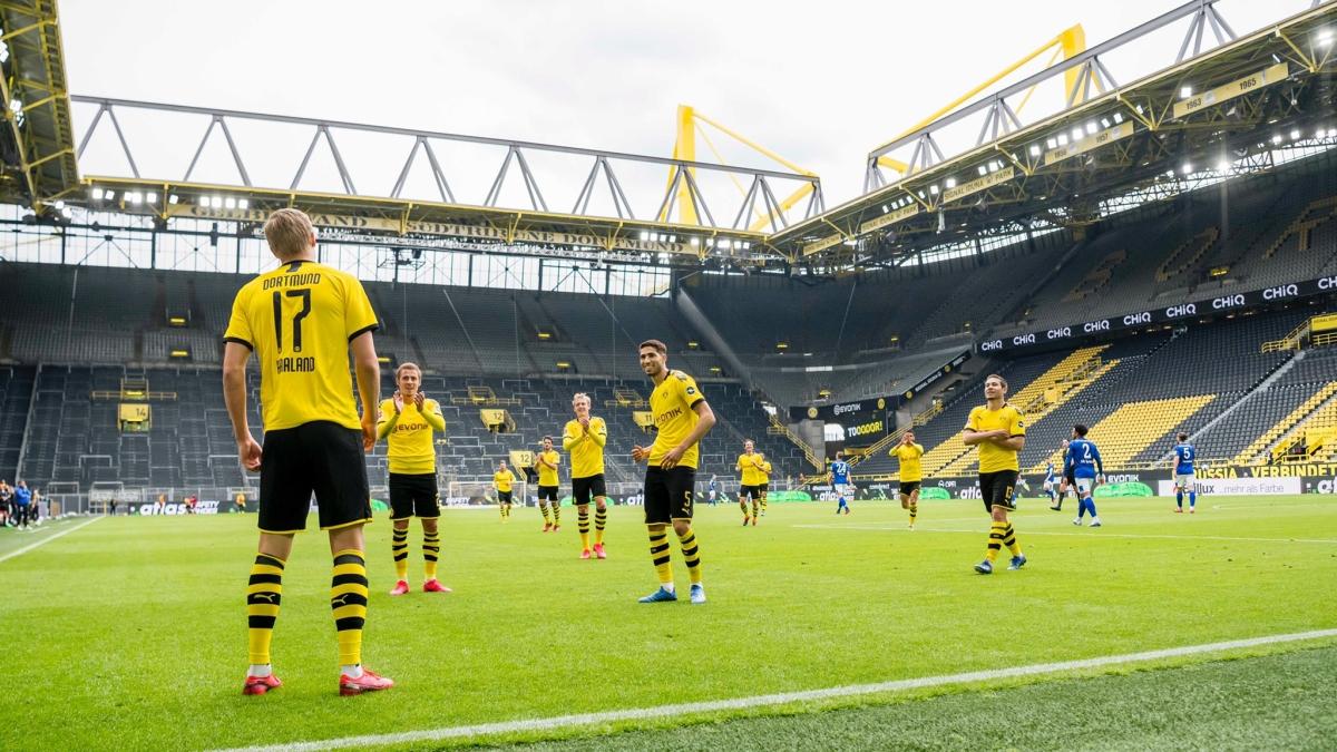 Fans get super emotional as German football league Bundesliga returns amid COVID-19 crisis