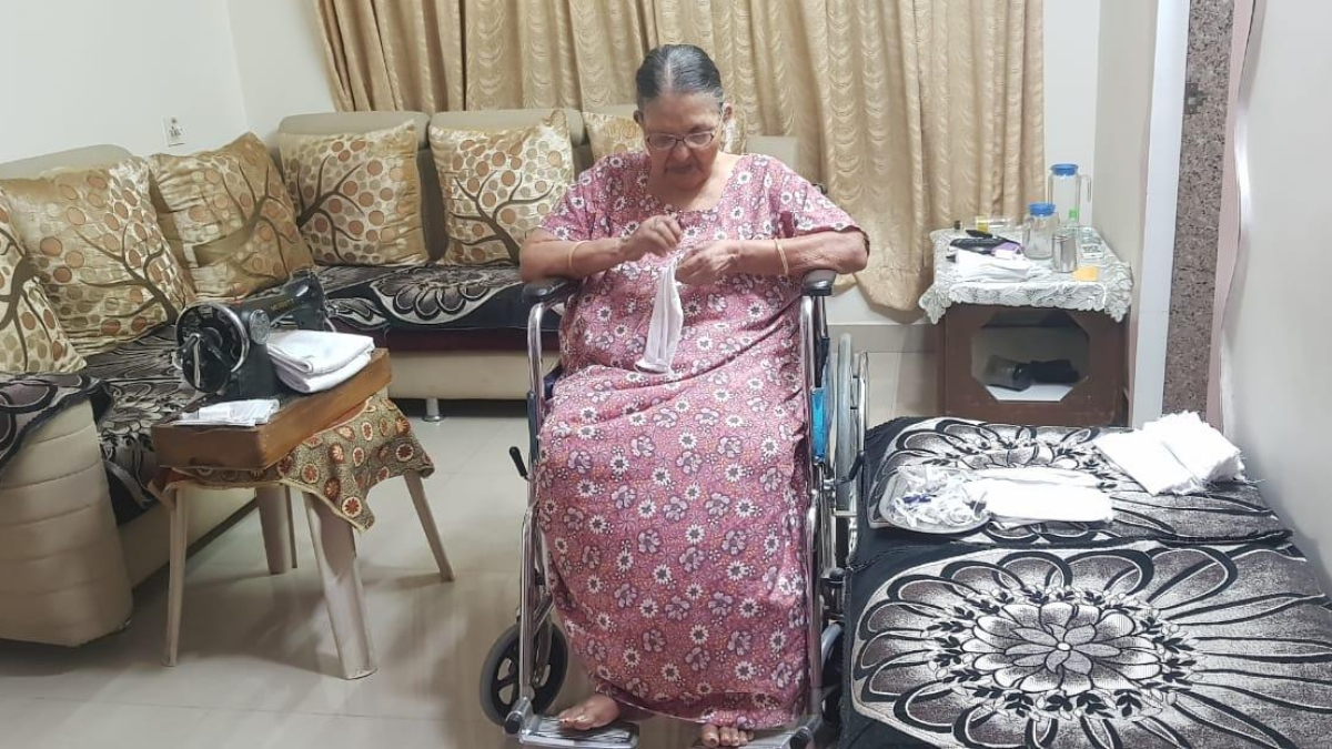 WR salutes 85-year-old woman for her great spirit during coronavirus pandemic