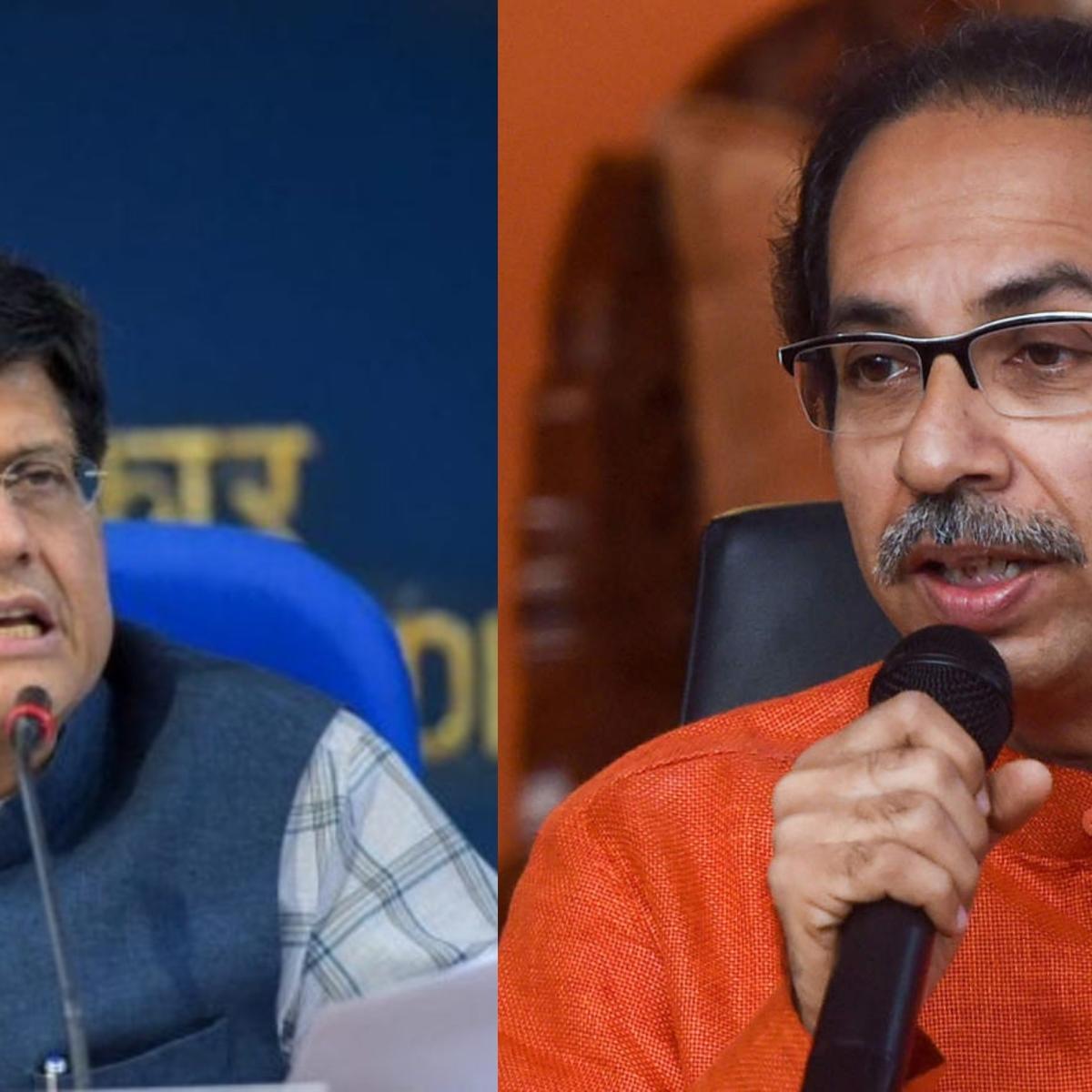 'Planning takes time': Piyush Goyal takes a dig at Uddhav for not providing details of Shramik trains from Maharashtra